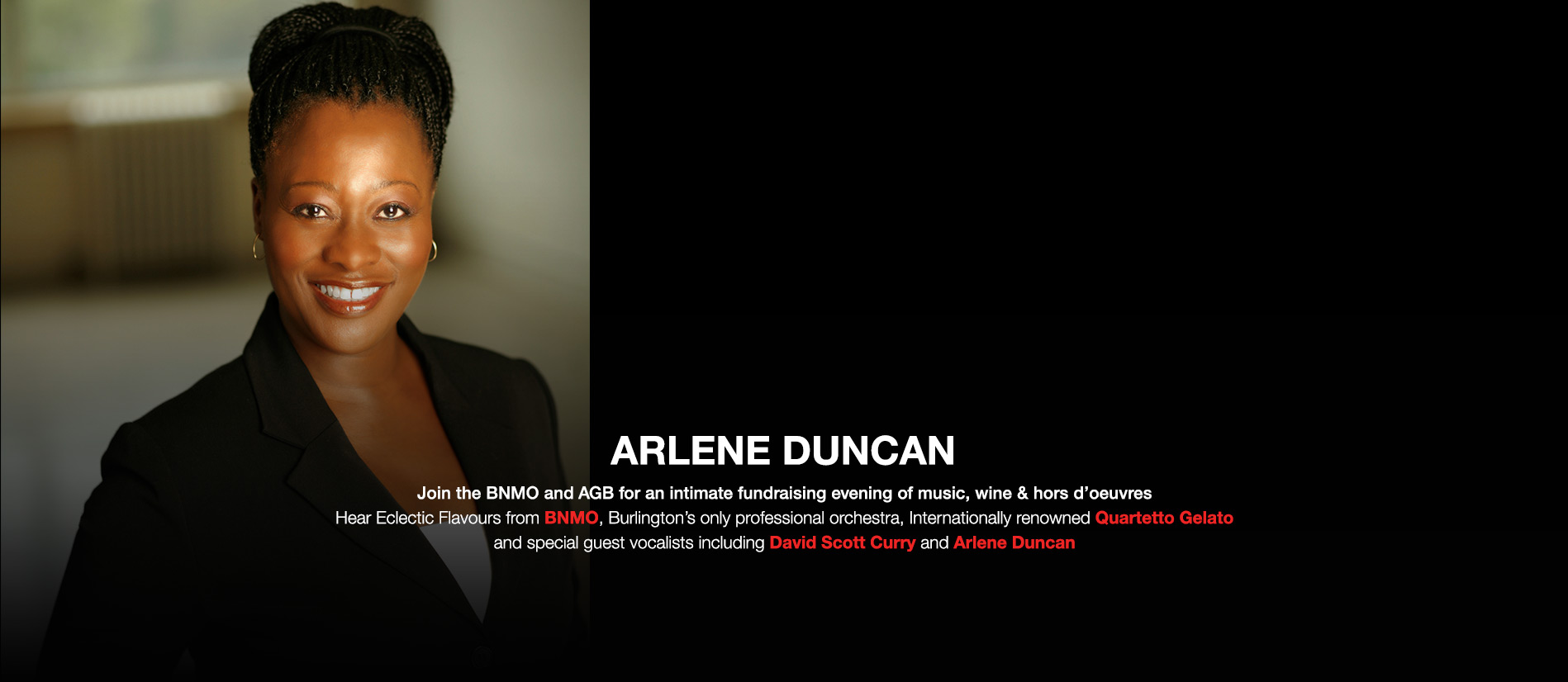 Hear Eclectic Flavours from Arlene Duncan
