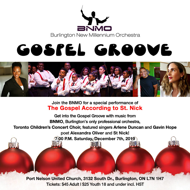 Gospel Groove at Port Nelson United Church with BNMO
