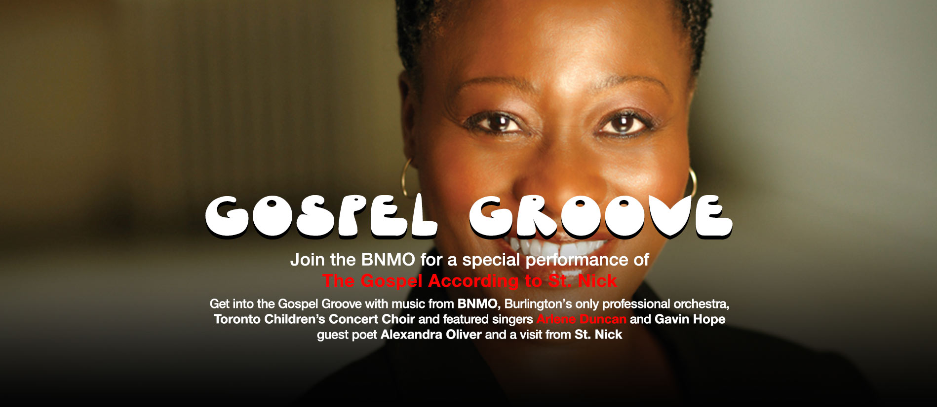 Gospel Groove at Port Nelson United Church with BNMO and Arlene Duncan