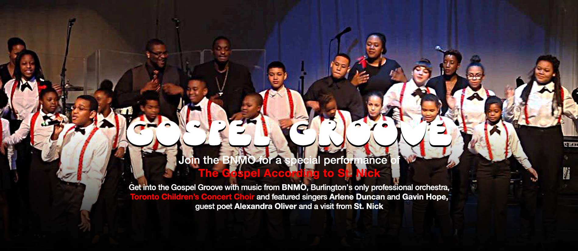 Gospel Groove at Port Nelson United Church with BNMO and Toronto Childrens Concert Choir